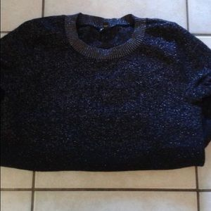 Black and Silver Sweater
